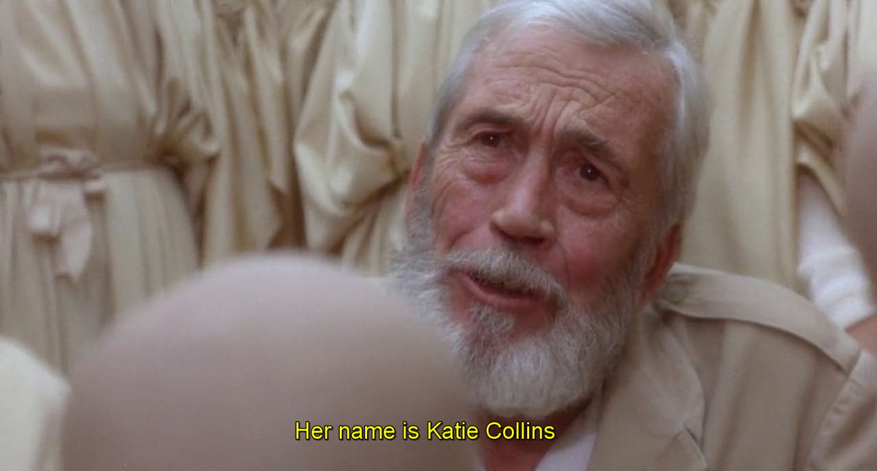 """Her name is Katie Collins …"