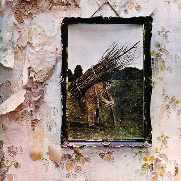 Zeppelin IV (Led Zeppelin): Old wise British men carrying massive faggots in the midst of a Satanic wood are scary to children. Things that are old-timey and not meant to be scary are, of course, the scariest. Evil, pretending to be normal, is more worrying than evil exposed.